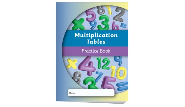 Multiplication Tables Practice Book