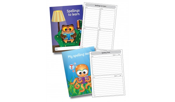 'Single Word' Spelling Booklets
